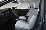 Front seat view of a 2017 Toyota Corolla L 4 Door Sedan front seat car photos