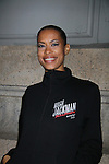 Kearran Giovanni is in the Hugh Jackman Back on Broadway show  at the Broadhurst Theatre, New York City.  (Photo by Sue Coflin/Max Photos)