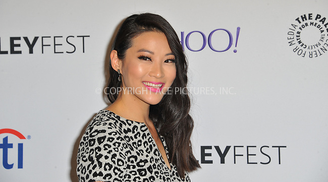 WWW.ACEPIXS.COM<br /> <br /> March 11 2015, LA<br /> <br /> Arden Cho arriving at The Paley Center For Media's 32nd Annual PALEYFEST LA - 'Teen Wolf' screening at the Dolby Theatre on March 11, 2015 in Hollywood, California. <br /> <br /> By Line: Peter West/ACE Pictures<br /> <br /> <br /> ACE Pictures, Inc.<br /> tel: 646 769 0430<br /> Email: info@acepixs.com<br /> www.acepixs.com