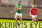 Maurice Corridan Lixnaw in action against Paul Browne Bruff in the Munster Club Intermediate Hurling Championship Semi Final at Austin STacj Park on Sunday.