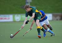 Action from the Wellington Hockey men's open grade premier one match between Victoria University and Indians at National Hockey Stadium in Wellington, New Zealand on Saturday, 22 June 2019. Photo: Dave Lintott / lintottphoto.co.nz