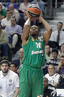 Panathinaikos Athens' DeMarcus Nelson during Euroleague match.January 22,2015. (ALTERPHOTOS/Acero) /NortePhoto<br />