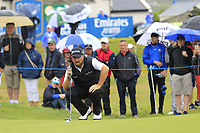 Shane Lowry (IRL) on the 17th hole during Saturday's Round 3 of the Dubai Duty Free Irish Open 2019, held at Lahinch Golf Club, Lahinch, Ireland. 6th July 2019.<br /> Picture: Eoin Clarke | Golffile<br /> <br /> <br /> All photos usage must carry mandatory copyright credit (© Golffile | Eoin Clarke)