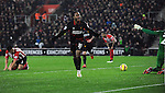 Raheem Sterling of Liverpool celebrates scoring his goal to make it 2-0 - Barclays Premier League - Southampton vs Liverpool - St Mary's Stadium - Southampton - England - 22nd February 2015 - Pic Robin Parker/Sportimage