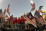 11 September 2012: U.S. fans. The United States Men's National Team played the Jamaica Men's National Team at Columbus Crew Stadium in Columbus, Ohio in a CONCACAF Third Round World Cup Qualifying match for the FIFA 2014 Brazil World Cup.