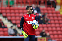 Dejan Stojanovic of Middlesbrough warming up during Charlton Athletic vs Middlesbrough, Sky Bet EFL Championship Football at The Valley on 7th March 2020