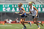 San Diego, CA 05/21/11 - Caroline Boucher (Torrey Pines #11) and Kyla Roessler (Rancho Bernardo #2) in action during the 2011 CIF San Diego Section Division 1 Championship game between Rancho Bernardo and Torrey Pines.