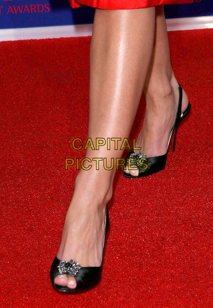 JAIME PRESSLY'S SHOES.5th Annual Taurus Stunt Awards held at Paramount Pictures, Los Angeles,  CA..September 25th, 2005.Photo credit: Jacqui Wong/AdMedia/Capital Pictures.Ref: JW.balck feet.www.capitalpictures.com.sales@capitalpictures.com.© Capital Pictures.