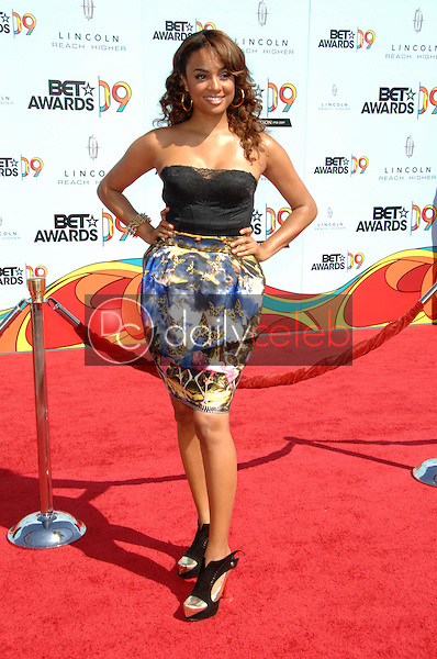 Aleesha Renee<br />at the 2009 BET Awards. Shrine Auditorium, Los Angeles, CA. 06-28-09<br />Dave Edwards/DailyCeleb.com 818-249-4998