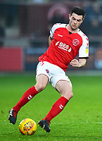 Fleetwood Town's Nathan Sheron in action<br /> <br /> Photographer Richard Martin-Roberts/CameraSport<br /> <br /> The EFL Sky Bet League One - Fleetwood Town v Doncaster Rovers - Wednesday 26th December 2018 - Highbury Stadium - Fleetwood<br /> <br /> World Copyright © 2018 CameraSport. All rights reserved. 43 Linden Ave. Countesthorpe. Leicester. England. LE8 5PG - Tel: +44 (0) 116 277 4147 - admin@camerasport.com - www.camerasport.com