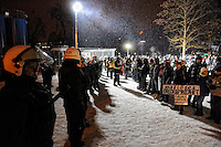 "Resistance against a billions costing trainstation Project ""Stuttgart 21"", Stuttgart, Germany 2012"