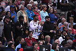 DALLAS, TX - MARCH 31: Dak Prescott cheers during the 2017 Women's Final Four at American Airlines Center on March 31, 2017 in Dallas, Texas. (Photo by Justin Tafoya/NCAA Photos via Getty Images)