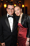 Paul Scheffler and Michelle Shannahan at the University of St. Thomas Court of Diamond Jubilee at the HIlton Americas Hotel Tuesday Feb. 16,2010. (Dave Rossman Photo)