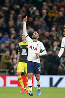 Lucas of Tottenham Hotspur celebrates scoring the second goal during Tottenham Hotspur vs Southampton, Emirates FA Cup Football at Tottenham Hotspur Stadium on 5th February 2020