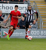 Grimsby Town's Dominic Vose in action during the Sky Bet League 2 match between Leyton Orient and Grimsby Town at the Matchroom Stadium, London, England on 11 March 2017. Photo by Carlton Myrie / PRiME Media Images.