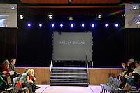 Amelia Boland by Amelia, New Zealand Eco Fashion Exposed Buyers &amp; Media Showcase at Notre Dame Performing Arts Centre, Lower Hutt, New Zealand on Thursday 24 July 2014. <br /> Photo by Masanori Udagawa. <br /> www.photowellington.photoshelter.com.