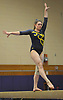 Gillian Murphy of Massapequa performs on the balance beam during a Nassau County varsity gymnastics meet against South Side at McKenna Elementary School in Massapequa Park on Monday, Jan. 29, 2018. She scored a meet-high 9.1 in the event and won the all-around with a 35.8 to lead Massapequa to a 167.2-155.45 victory.