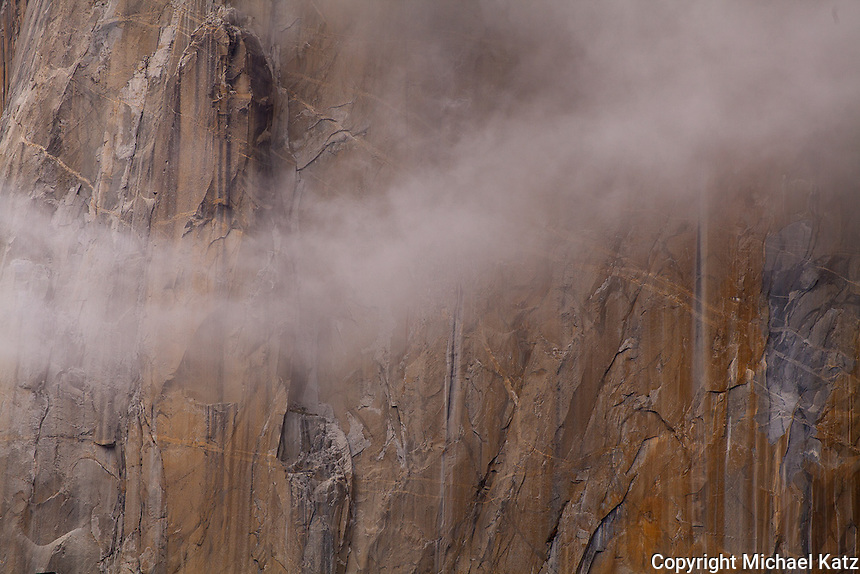 Cloud and Detail, Face of El Capitan