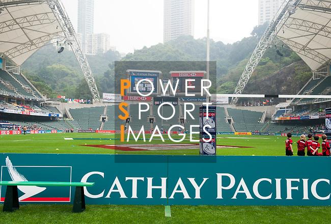 Cathay Pacific / HSBC Hong Kong Sevens 2012 at the Hong Kong Stadium in Hong Kong, China on 23rd March 2012. Photo © Ricardo Ordonez / PSI for HKRFU