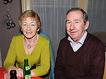 Paul and Patsy Brennan at Packy Carolan's 50th birthday in the Star & Crescent. Photo:Colin Bell/pressphotos.ie