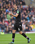 Crystal Palace's Scott Dann during the premier league match at the Turf Moor Stadium, Burnley. Picture date 10th September 2017. Picture credit should read: Paul Burrows/Sportimage