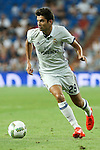 Real Madrid's Enzo Zidane during the XXXVII Bernabeu trophy between Real Madrid and Stade de Reims at the Santiago Bernabeu Stadium. August 15, 2016. (ALTERPHOTOS/Rodrigo Jimenez)