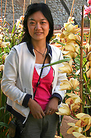 Dalat is known for its wide variety of fresh flowers and produce, especially cauliflower, artichokes and strawberries.