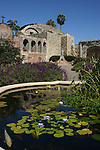 pond at Mission San Juan Capistrano