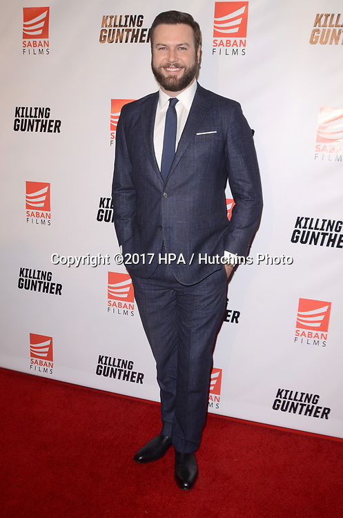 """LOS ANGELES - OCT 14:  Taran Killam at the """"Killing Gunther"""" Los Angeles Special Screening at the TCL Chinese 6 Theaters on October 14, 2017 in Los Angeles, CA"""