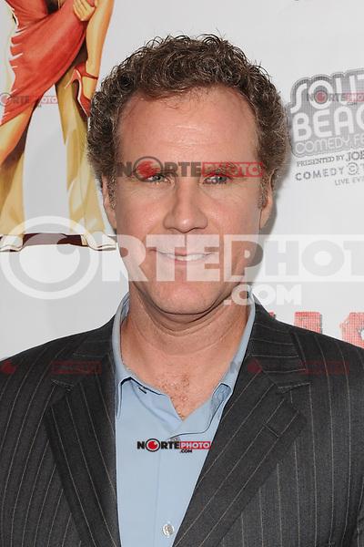MIAMI BEACH , FL - FEBRUARY 29: Will Ferrell arrives at the Casa Di Mi Padre movie screening on February 29, 2012 in Miami Beach, Florida. © mpi04 / Media Punch Inc.