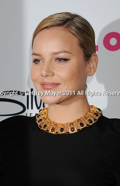 HOLLYWOOD, CA - MARCH 24: Abbie Cornish arrives at NYLON Magazine's 12th Anniversary Issue Party With The Cast of Sucker Punch at Tru Hollywood on March 24, 2011 in Hollywood, California.