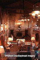 63895-051.05 Giant City State Park Lodge, interior    IL