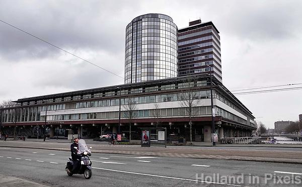 Nederland Amsterdam 2018 . De Nederlandsche Bank bij het Westeinde. Foto Berlinda van Dam / Hollandse Hoogte