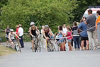 Fahrradfahrer beim MöWaThlon auf der Strecke