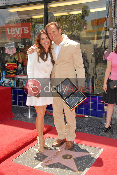 Roma Downey and Mark Burnette<br />