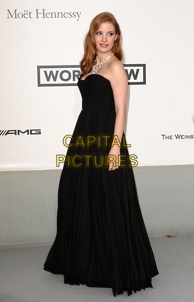 CAP D'ANTIBES, FRANCE - MAY 22: Jessica Chastain attends amfAR's 21st Cinema Against AIDS Gala, Presented By WORLDVIEW, BOLD FILMS, And BVLGARI at the 67th Annual Cannes Film Festival on May 22, 2014 in Cap d'Antibes, France. <br /> CAP/CAS<br /> &copy;Bob Cass/Capital Pictures