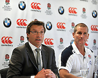 Mortimer, England, RFU Professional Rugby Director, Rob Andrew during the Launch of BMW Group UK's new partnership with the RFU including investment in the RFU National Academy Programme and front of shirt sponsorship for the England Under-20, Under-18 and Under-16 squads at  BMW Group Academy, Mortimer, England, September 25.