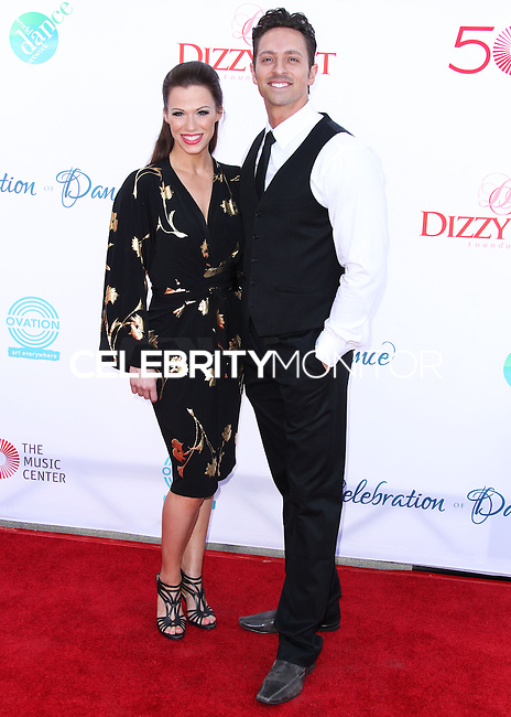 LOS ANGELES, CA, USA - JULY 19: Ashleigh Di Lello, Ryan Di Lello at the 4th Annual Celebration Of Dance Gala Presented By The Dizzy Feet Foundation held at the Dorothy Chandler Pavilion at The Music Center on July 19, 2014 in Los Angeles, California, United States. (Photo by Xavier Collin/Celebrity Monitor)
