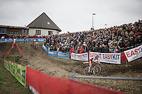 Laurens Sweeck (BEL/ERA-Murprotec)<br /> <br /> Jaarmarktcross Niel 2015  Elite Men &amp; U23 race