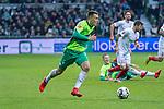 10.02.2019, Weser Stadion, Bremen, GER, 1.FBL, Werder Bremen vs FC Augsburg, <br /> <br /> DFL REGULATIONS PROHIBIT ANY USE OF PHOTOGRAPHS AS IMAGE SEQUENCES AND/OR QUASI-VIDEO.<br /> <br />  im Bild<br /> Maximilian Eggestein (Werder Bremen #35)<br /> Einzelaktion, Ganzkörper / Ganzkoerper<br /> <br /> <br /> Foto © nordphoto / Kokenge