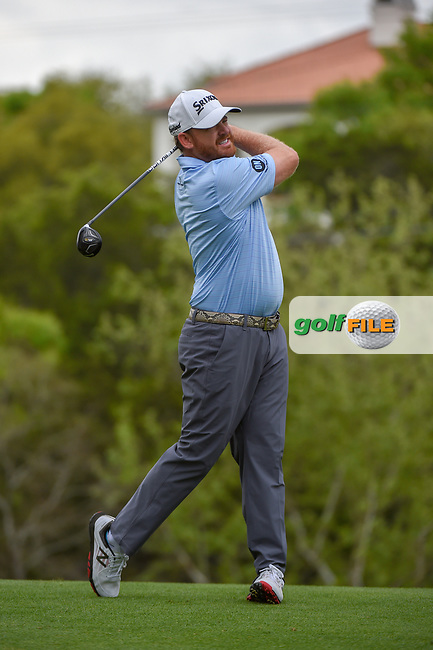 J.B. Holmes (USA) watches his tee shot on 3 during day 3 of the WGC Dell Match Play, at the Austin Country Club, Austin, Texas, USA. 3/29/2019.<br /> Picture: Golffile | Ken Murray<br /> <br /> <br /> All photo usage must carry mandatory copyright credit (© Golffile | Ken Murray)
