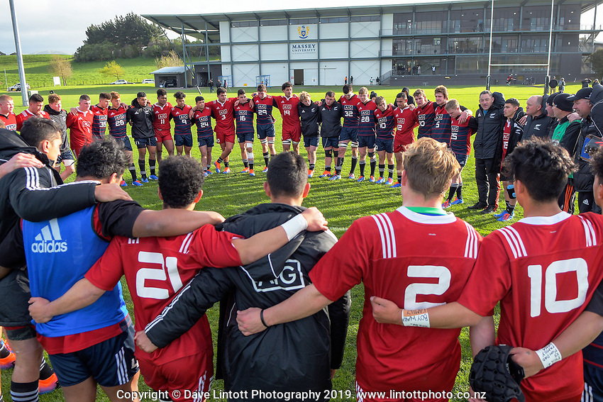 NZ Schools v NZ Schools Barbarians. Game Of Three Halves NZ Schools pre-season rugby match at the Sport & Rugby Institute in Palmerston North, New Zealand on Thursday, 26 September 2019. Photo: Dave Lintott / lintottphoto.co.nz