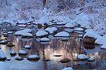 Along the Wenatchee, River near Dryden, WA in winter.<br />