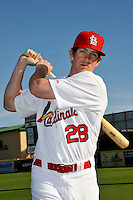Mar 01, 2010; Jupiter, FL, USA; St. Louis Cardinals outfielder Colby Ramus (28) during  photoday at Roger Dean Stadium. Mandatory Credit: Tomasso De Rosa/ Four Seam Images