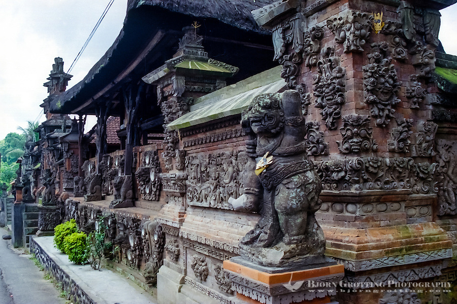 Bali, Tabanan. A temple south of Tabanan city.