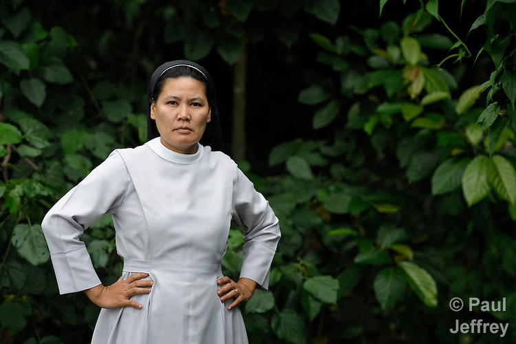 Roman Catholic Sister Stella Matutina, OSB, has been detained by the military and threatened because of her work to protect the environment in Mindanao, the Philippines' southern island. Matutina is a member of the Order of Saint Benedict..