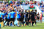 08.06.2019., stadium Gradski vrt, Osijek - UEFA Euro 2020 Qualifying, Group E, Croatia vs. Wales. Domagoj Vida, Tin Jedvaj. <br /> <br /> Foto © nordphoto / Davor Javorovic/PIXSELL