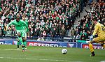 Moussa Dembele scores his first and Celtic's third goal