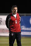 24 March 2004: DC United's rookie head coach Peter Nowak before the game. DC United of Major League Soccer defeated the Wilmington Hammerheads of the Pro Select League 1-0 at the Legion Sports Complex in Wilmington, NC in a Carolina Challenge Cup match..