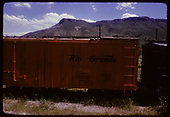 D&amp;RGW refrigerator car #167 displayed at Colorado Railroad Museum.<br /> D&amp;RGW  Golden, CO